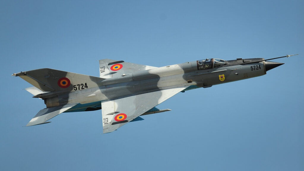 Modern Equivalent: Mikoyan-Gurevich MiG-21