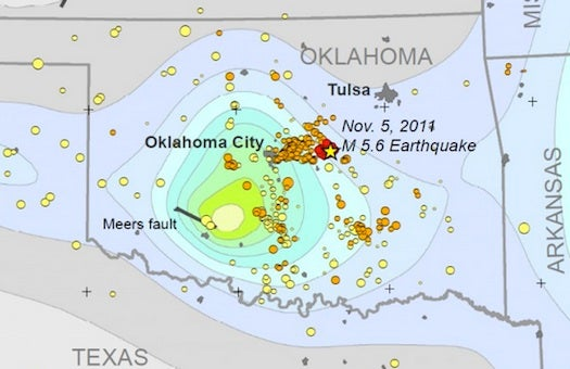 Study: Wastewater Injection Caused Oklahoma's Largest-Ever Earthquake