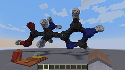 Explore Chemistry Like Never Before, Inside A Minecraft World Of Molecules