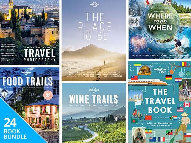Lonely Planet Travel Hacker eBook Bundle