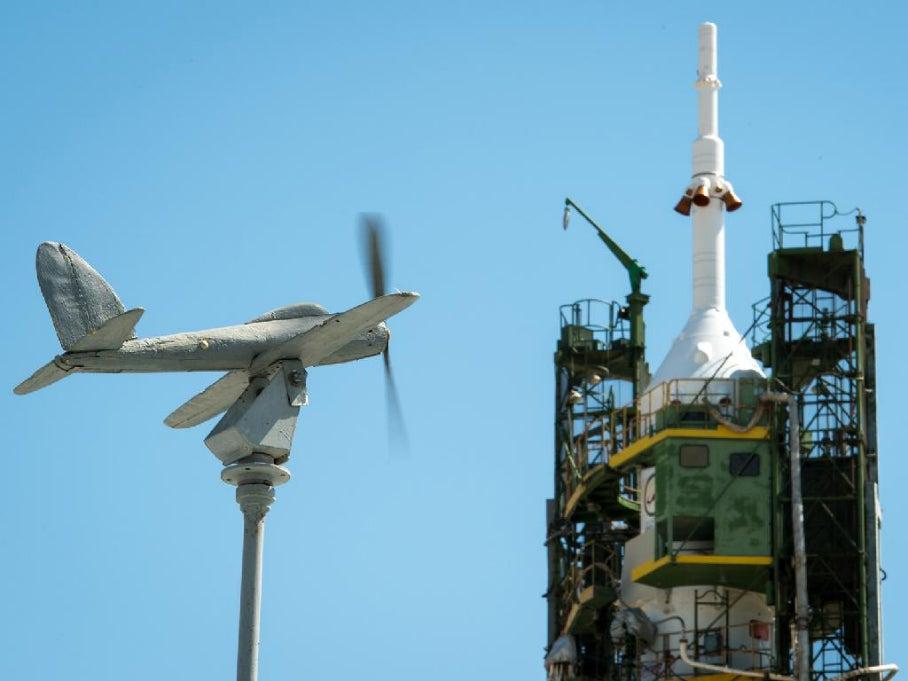 Big Pic: Countdown To A Soyuz Rocket Launch