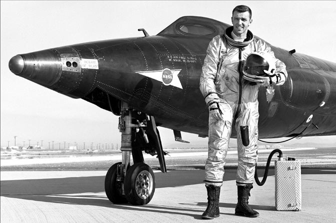 Meet Joe Engle, A Pilot Who Flew A Rocket Plane Into Space