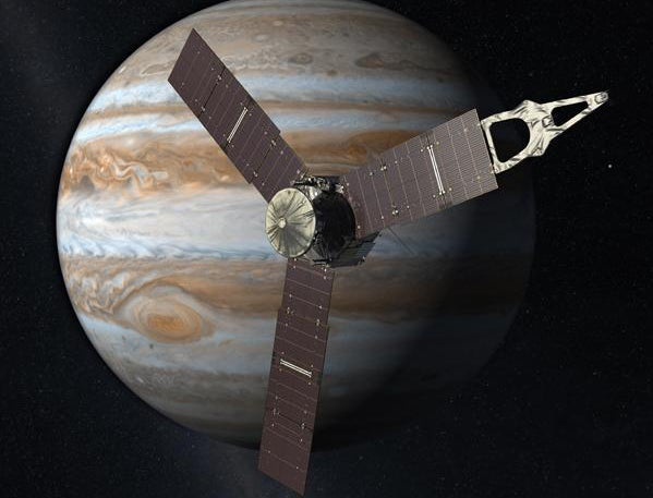 NASA's Jupiter-Bound Juno Spacecraft Is About To Swing By Earth