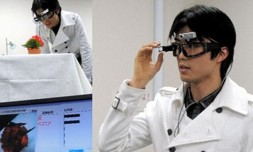 Cyber Goggles for Human Tagging
