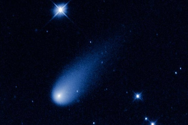 Hubble Catches The Comet ISON Hurtling Toward The Sun