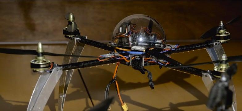 Bristol Mine Finding Drone