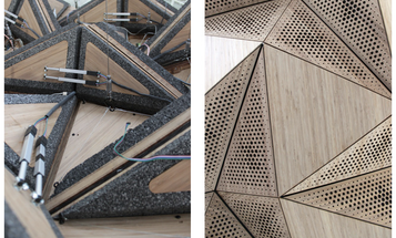 Morphable Concert Hall Ceiling Shape-Shifts For Superbly Customized Sound