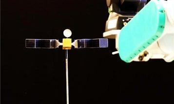 Autonomous Satellite Chasers Can Use Robotic Vision to Capture Orbiting Satellites