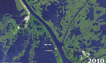 Louisiana's Disappearing Coastline Threatens Entire U.S. Economy