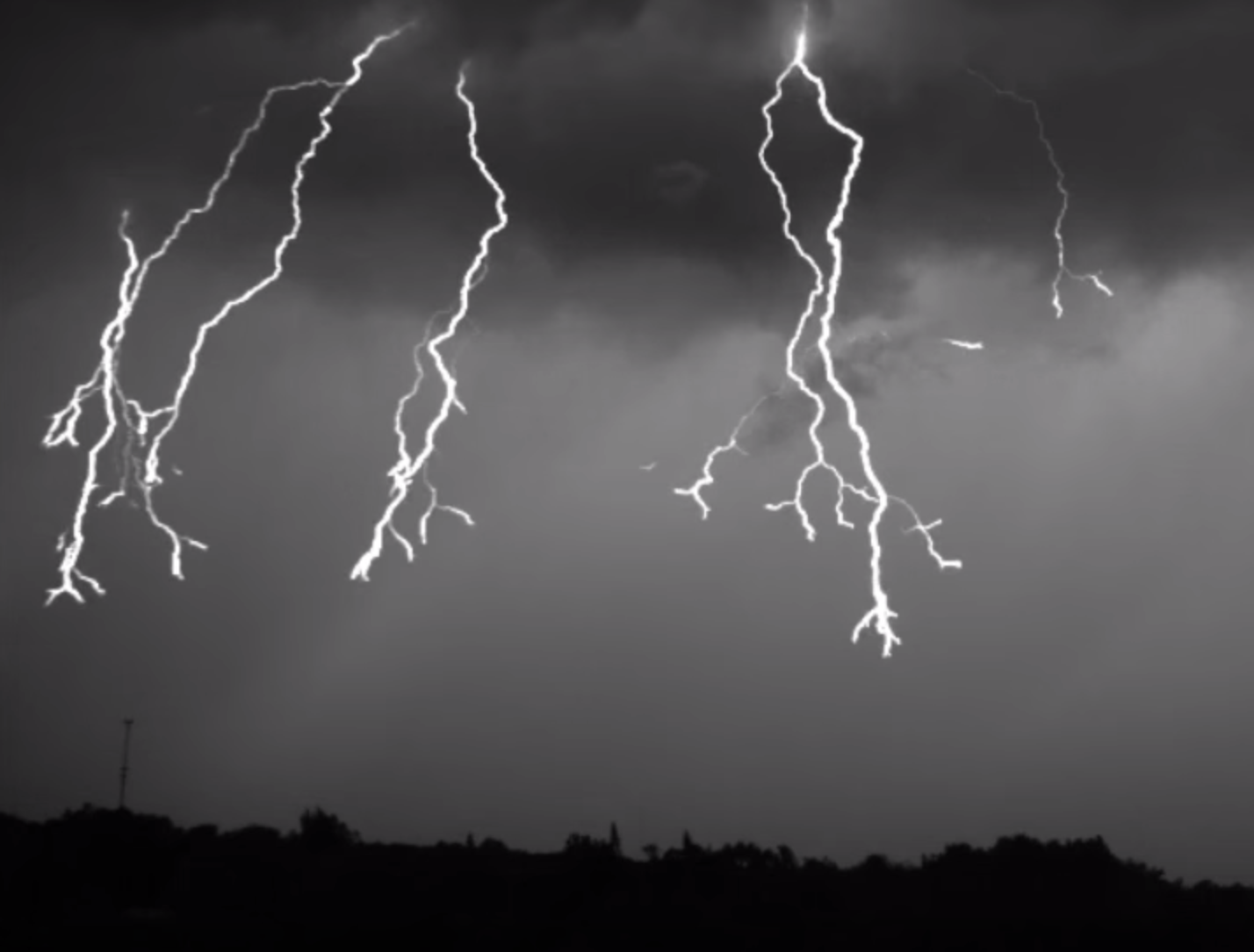 Here's Some Slow Motion Lightning To Brighten Your Day