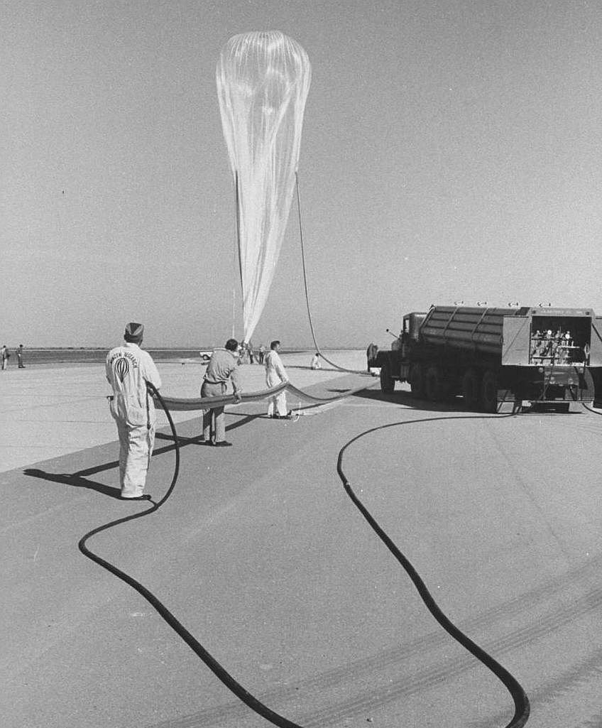 How Otto Winzen Took Men Into the Stratosphere