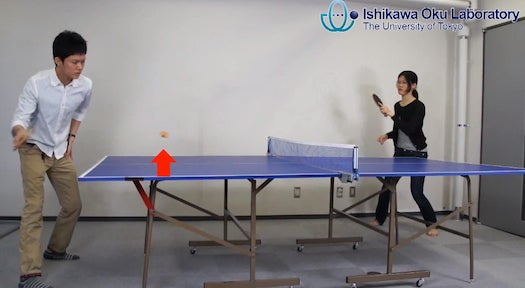 Video: Camera Uses Ultra-Fast Mirrors to Perfectly Track a Ping-Pong Ball in Play