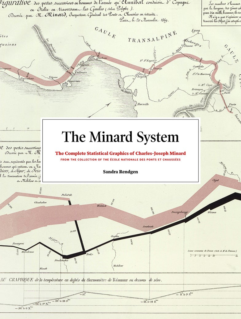 Charles Minard is known for the 'best graphic ever,' but he may have topped it with these maps