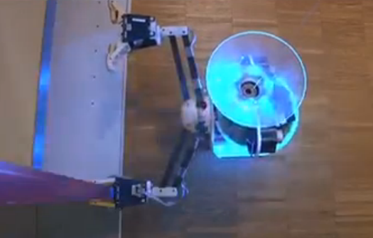 Video: Flying, Spying, Rolling, Climbing, and Rappelling Robots Team Up to Form: Swarmanoid!
