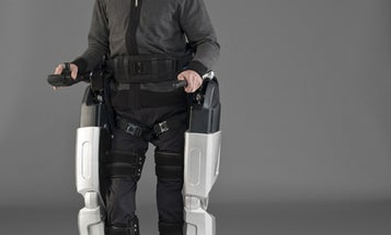 REX, the Robotic Exoskeleton, Gives Paraplegic Man a Bionic Set of Legs