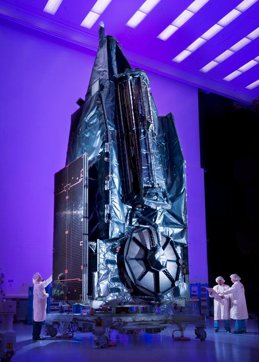 The Largest Commercial Antenna Ever Put Into Space Will Beam 4G Where Towers Won't
