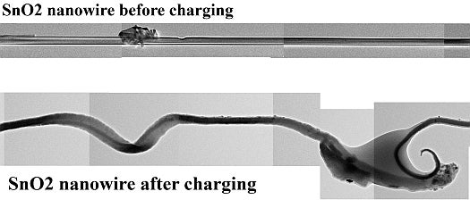 Video: Smallest Li-Ion Battery Ever Created Swells and Contorts While Charging