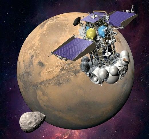 Video: Phobos-Grunt Will Make Its Fiery Return to Earth Next Week