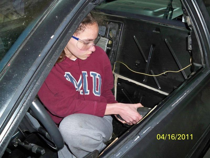 Intrepid Michigan Tween Restores Her Own Future Car
