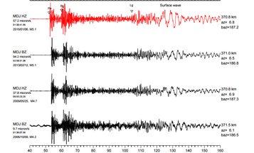 Seismologists: North Korea's Latest Nuke Blast Modestly Bigger Than Their First