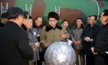 North Korea's Purported Nuke Looks Like A Cartoon Bomb