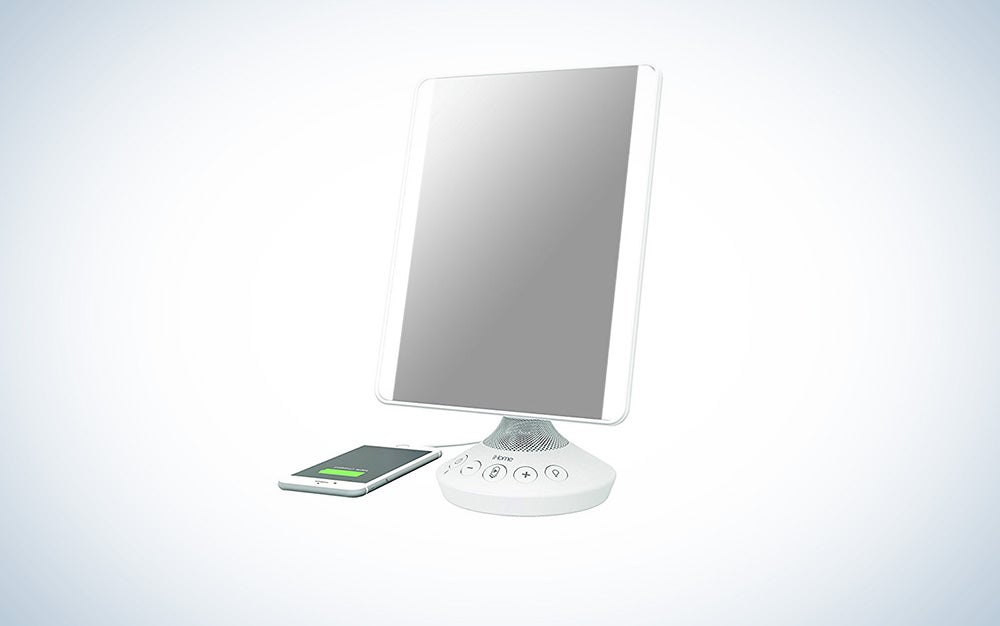 iHome Flat Panel Vanity Mirror