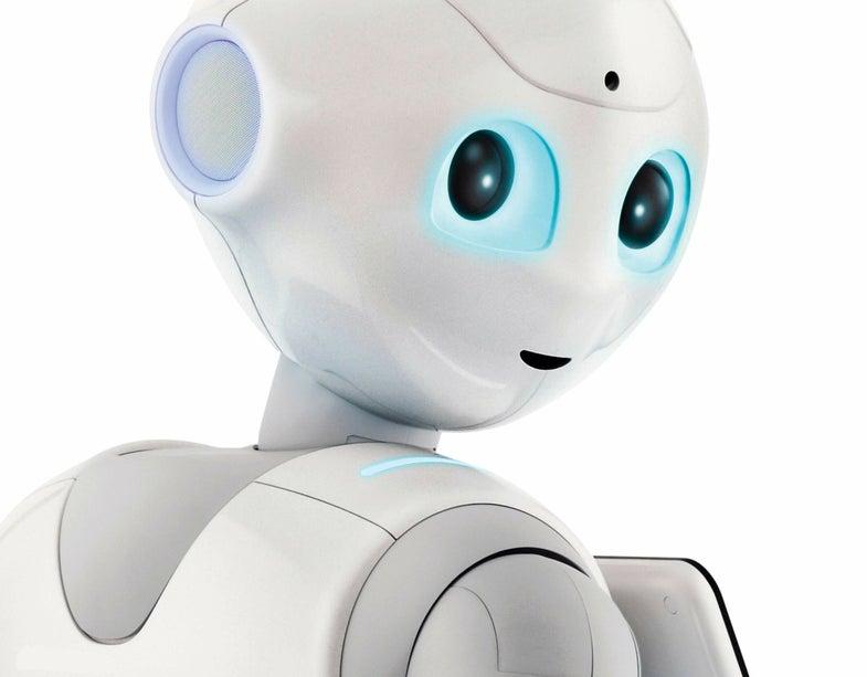 friendly helper robot