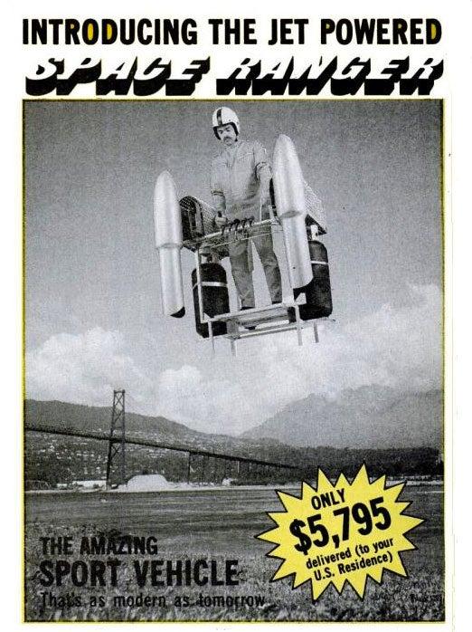 Jet Powered Space Ranger: December 1977
