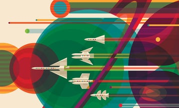 NASA's Retro-Future Posters Want To Send You On An Interplanetary Vacation