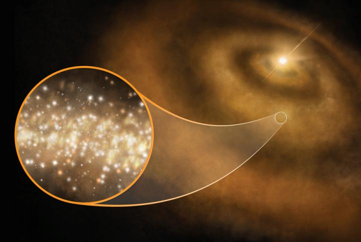 Strange signals from space may be the result of spinning diamond dust
