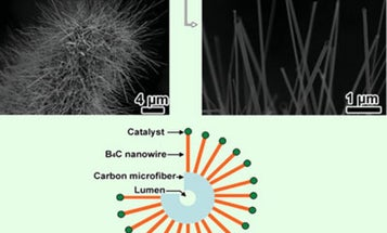 Process That Converts Cotton to Boron Carbide Could Create Armored T-Shirts