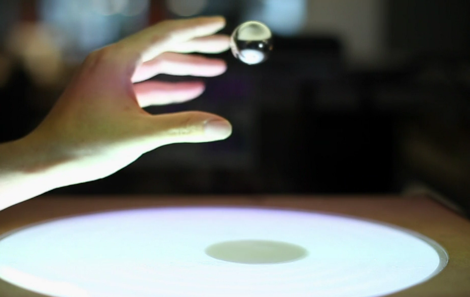 Video: MIT's Latest User Interface Employs Gravity-Defying, Levitating Metal Orbs