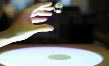Video: MIT's Latest User Interface Employs Gravity-Defying, Levitating Metal Orbs