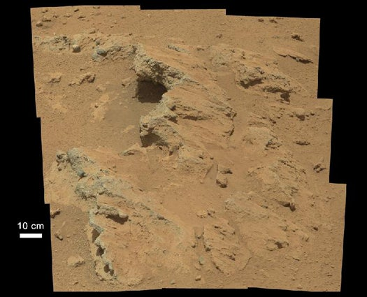 Today On Mars: First Physical Evidence Of A Once-Flowing Stream