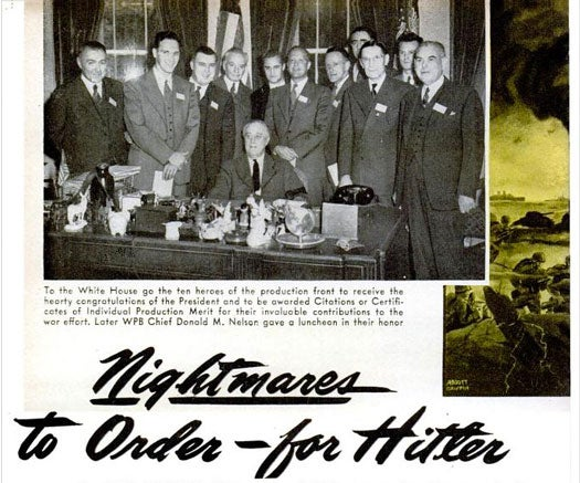 Nightmares to Order for Hitler: October 1943