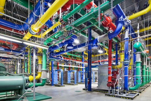 12 Beautiful Photos Of Google's (Problematic) Data Centers