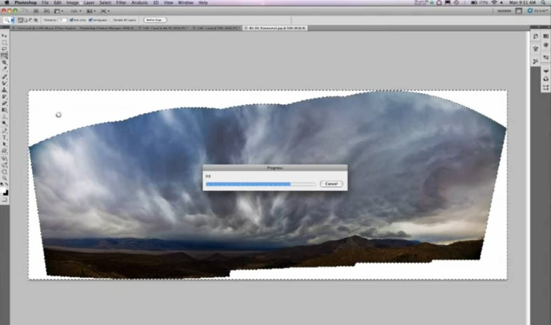 Video: Photoshop's Content-Aware Fill is Magical