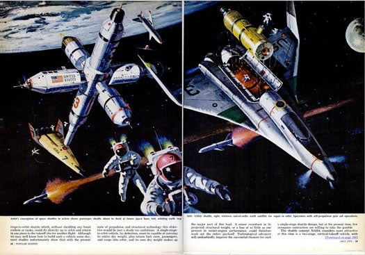 Archive Gallery: Early Visions of Human Spaceflight