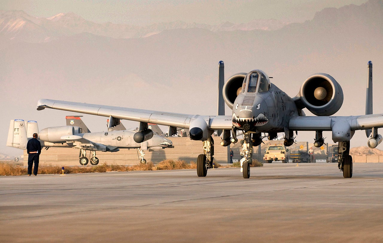 A-10 Thunderbolts Upgraded With Laser Guided Rockets