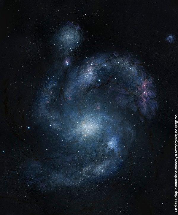 Astronomers Spot Ancient Spiral Galaxy From an Era When Spirals Should Not Exist