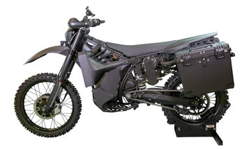 Special forces are getting a stealth motorcycle that's silent and deadly