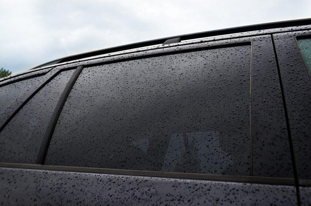 car windows tinted