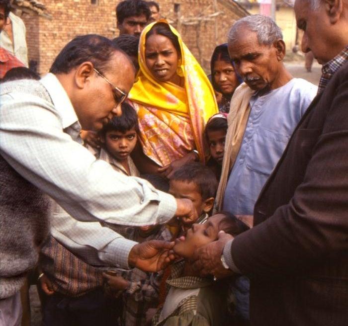 WHO Declares Southeast Asia Polio-Free, Has High Tea