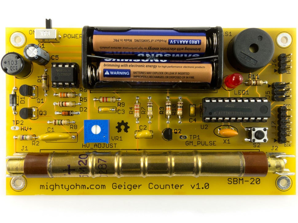 Rasberry Pi-Ready Radiation Detector
