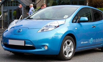 Nissan Rolls Out a System that Lets Your Electric Car Serve as a Backup Battery for Your House