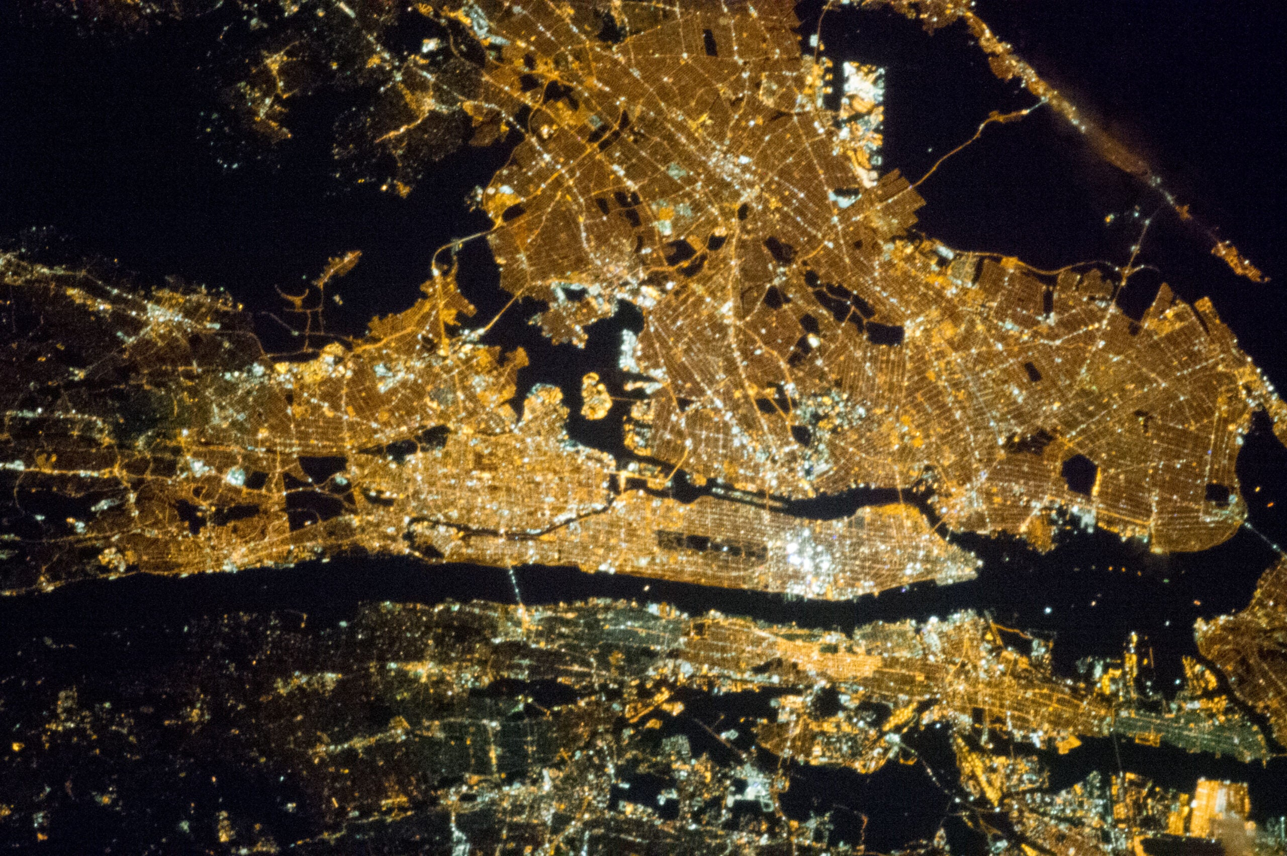 The U.S. Looks Absurdly Bright From Space
