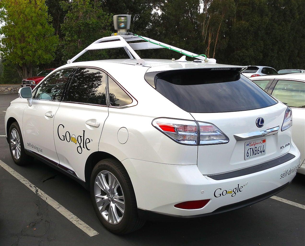 Google Autonomous Lexus
