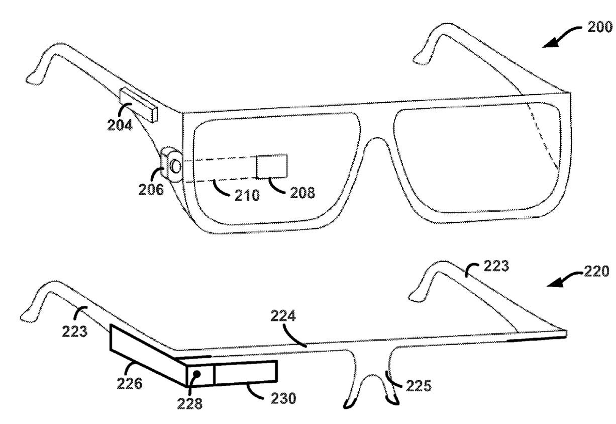 Mysterious Google Patent Reveals Possibilities for The Future Of Google Glass