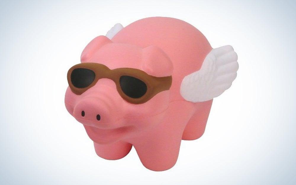 Flying Pig Stress Toy