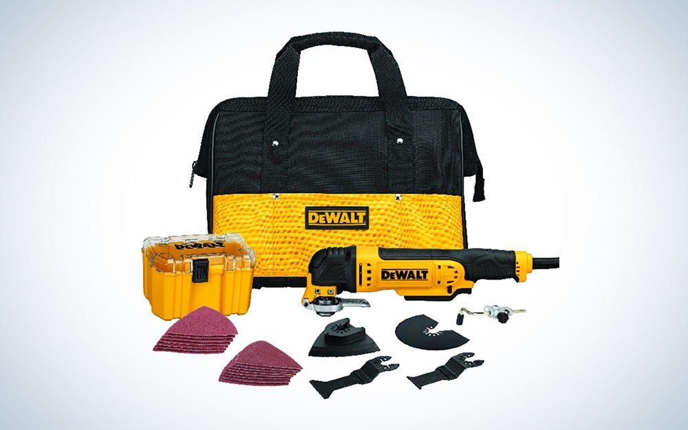 DEWALT oscillating tool kit